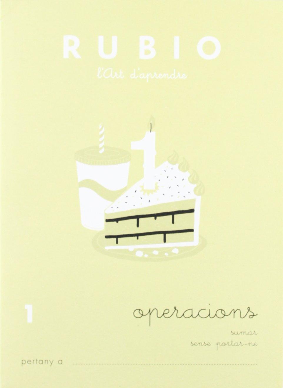 Rubio OP1 CAT - Cuaderno operaciones: Enrique Rubio Polo: Amazon.es: Oficina y papelería