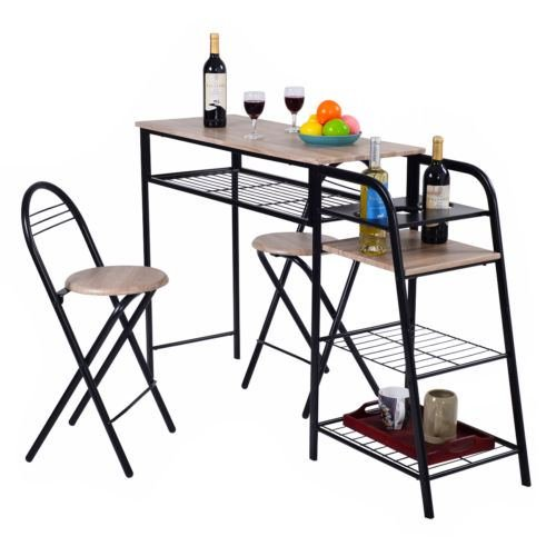 Pub Table Chairs Dining Set Counter Height Home Breakfast for sale  Delivered anywhere in USA
