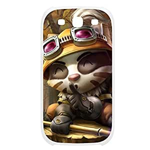 Teemo-005 League of Legends LoL case cover Samsung Galaxy S5 I9600/G9006/G9008 Plastic White