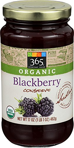 (365 Everyday Value, Organic Blackberry Conserve, 17 Ounce)