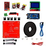 SODIAL 3D Printer Kit,Ramps 1.4 + Mega 2560 + MK2B Heatbed + Controller I3 Suit 12864
