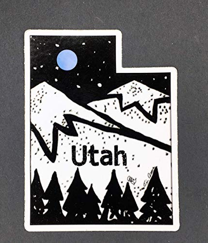 Utah Sticker, Utah Bumper Sticker, Utah