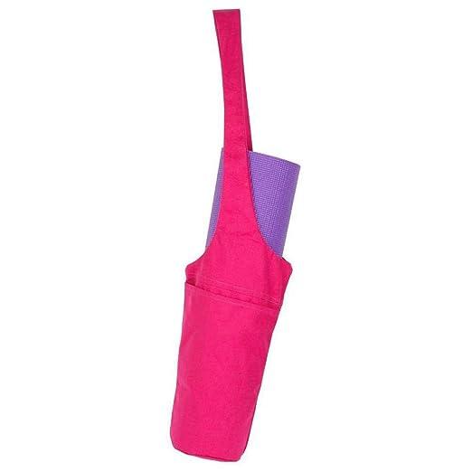 KOBWA - Bolsa para Esterilla de Yoga con Bolsillo Lateral ...
