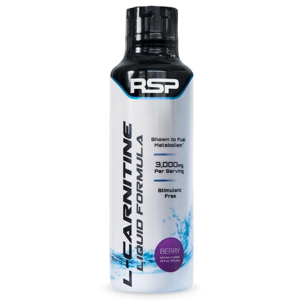 RSP Nutrition Weight Loss Supplement, Liquid L-Carnitine, 16 Fluid Ounce