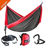 There are a lot of hammocks to choose from on Amazon. Why do you choose WINNER OUTFITTERS professional series hammocks? Material  The hammock is made of super strong 210T parachute nylon material. So it's very lightweight. This soft, breathable and m...
