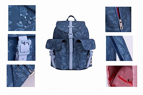 8848 Wanita Ransel Tote Bag Borsoni Sportivi Spalle Borsa Sacchetto di Scuola Laptop Bag Zaino Outdoor Pacchetto di CoppiaModa Tempo Libero Casual Daypacks