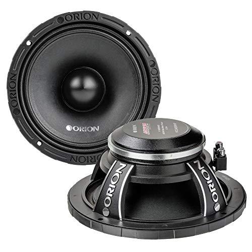 Orion HCCA-858NHP 8-Inch 650W RMS Super Midrange Ultra High Efficiency Speaker 8 Ohm 2600W Max