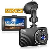 CLAONER Dash Cams 1080P Full HD Dashcam Car Camera DVR Dashboard Camera Front