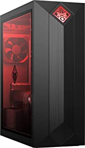 HP OMEN Obelisk Gaming Desktop Computer| 9th Gen Intel Hexa-Core i5-9400 up to 4.1GHz| 8GB DDR4 RAM| 1TB 7200RPM HDD + 16GB PCIe Optane| NVIDIA GeForce GTX 1060 3GB| AC WiFi| Windows 10|