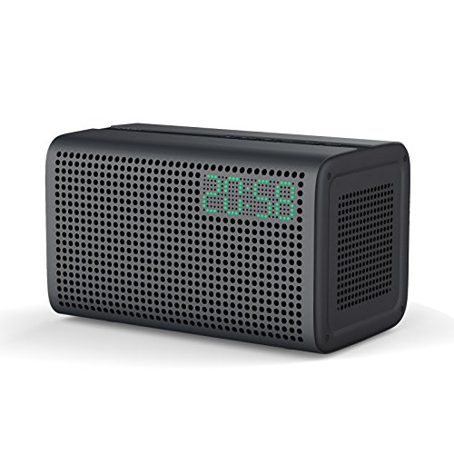 Multiroom Lautsprecher, GGMM E3 Smart Wi-Fi/ Bluetooth Multiroom Lautsprecher - Unterstützt Airplay, DLNA, Spotify, Built-in Wi-Fi für iOS & Android Geräte oder PC (Grau)
