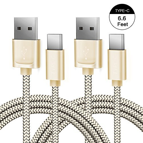 Android JSAUX Charger Braided Smartphones