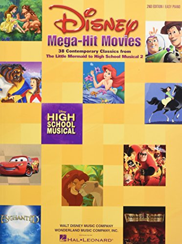 Disney Mega-Hit Movies: 38 Contemporary Classics from The Little Mermaid to High School Musical 2 (Sheet Music Disney)