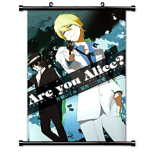 Are You Alice Anime Fabric Wall Scroll Poster (16 x 23) Inches. [WP]Are You-2