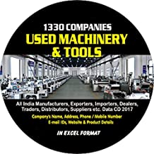 Used Machinery & Tools Companies Data