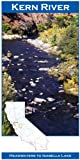 Kern River 11x17 Fly Fishing Map