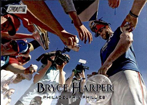 (2019 Topps Stadium Club #291 Bryce Harper Philadelphia Phillies Baseball Card)