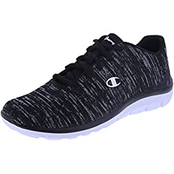 Champion Women's Black Grey Print Women's Gusto Cross Trainer 8.5 Regular