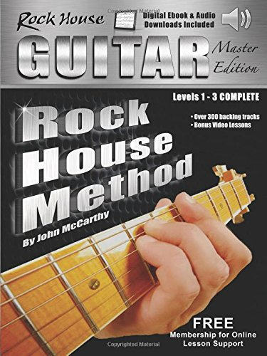 The Rock House Guitar Method Master Edition: Levels 1-3 Complete