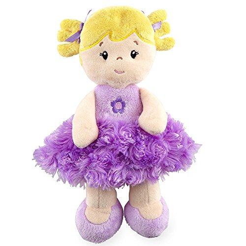 10 inch Plush Purple Doll