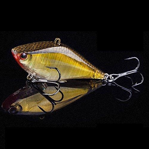 Fishing Fishing Lures - 1pc 6.3cm 14g Jerkbait Hard VIB Lures Crankbait Fishing Lure Wobblers With Treble Hook - 2-1 x Fishing Lure