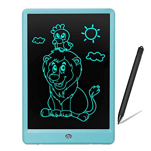 - LCD Writing Tablet,e Writing Board,LCD Writing Board,Writing Pad, Drawing Board,Gifts for Kids (10Inch Blue)