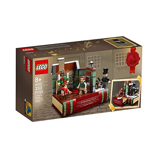 LEGO Charles Dickens Tribute Set 40410