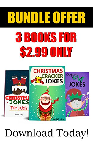 books for kids christmas jokes bundle book for children special 3 books in