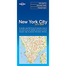 Lonely Planet New York City Map 1st Ed.