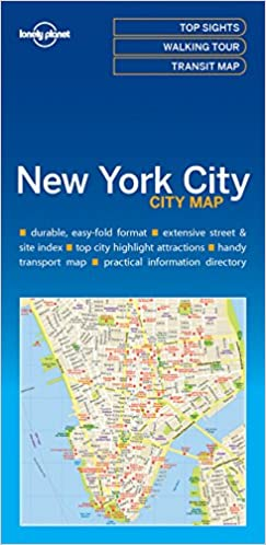 Lonely Planet New York City Map Lonely Planet City Maps: Amazon.de on