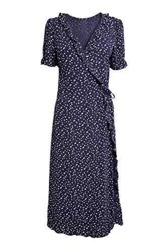 Kleid next Damen Damen Marineblau Gepunktetes Kleid Gepunktetes next FSwvPqxTB1