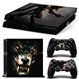Golden The Wolfman PS4 VinylSkin Decal Cover for PlayStation 4 Console and Controllers - World of Warcraft