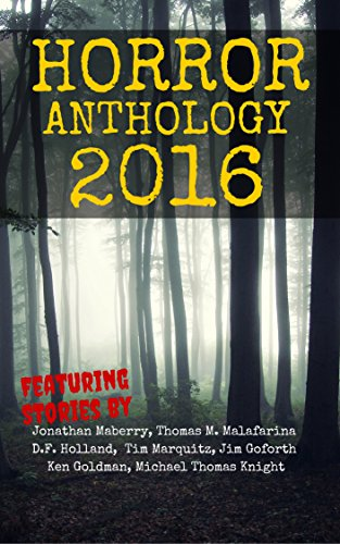 book cover of Horror Anthology 2016