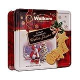 Walkers Shortbread Festive Shapes Shortbread Tin, Scottish Shortbread, Cookie, Biscuit, Gift Box, 460 g
