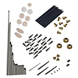 MonkeyJack Alto Sax Repair Parts Sax Saxophone Springs+Screws+Key Buttons Musical Instrument Accessories