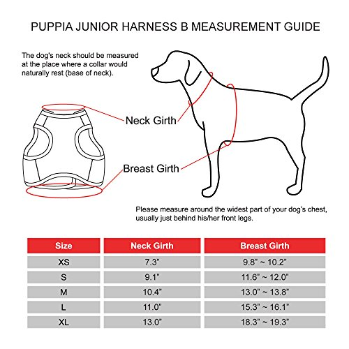 Pictures of Puppia Authentic Junior Harness B Large Beige 2