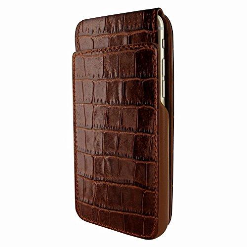 Piel Frama 770 Brown Crocodile UltraSliMagnum Leather Case for Apple iPhone 7 / 8 by Piel Frama (Image #3)