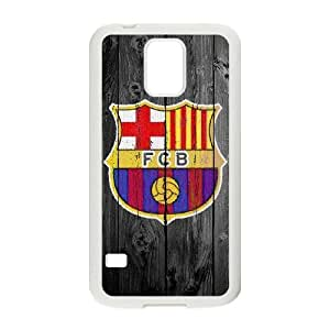 Samsung Galaxy S5 Cell Phone Case White Barcelona HG7622919
