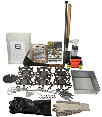F&T Coyote Trapping Starter Kit Bundle (Fur Coyote)