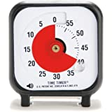 Time Timer 3 INCH, 60 minute visual analog timer with flip out base and optional alert
