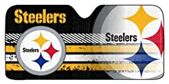 Pittsburgh Steelers Auto Sun Shade - 59'...