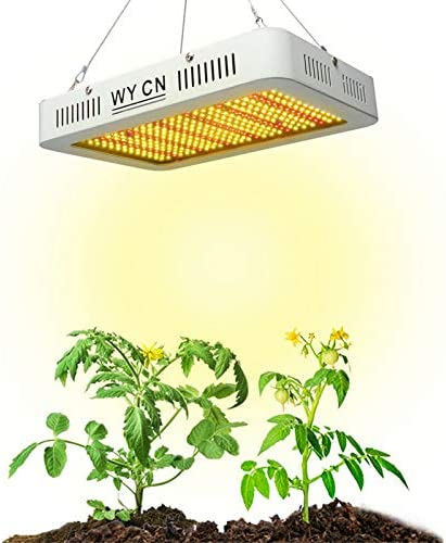 WY CN 1000W LED Grow Lights Plant Growth Light Full Spectrum, Suitable for Indoor Plants, Vegetables and Flowers Warm Light
