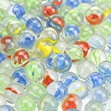 Toys : GREEN FABWOOD 200Piece Cats Eyes Glass Marble/ Sling Shot Ammo