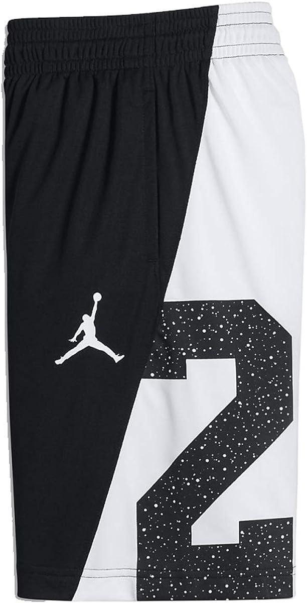 Nike Boys Jordan 23 Speckle Dri-Fit Basketball Shorts Black White 954348 k25