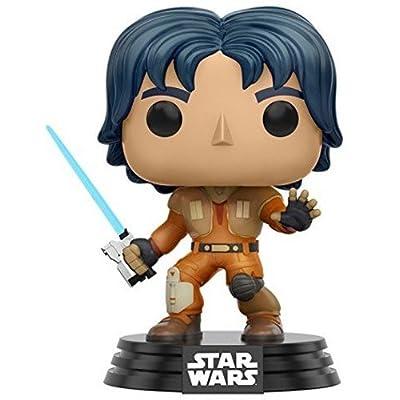 Funko Star Wars Rebels Ezra Pop Figure: Funko Pop! Star Wars:: Toys & Games