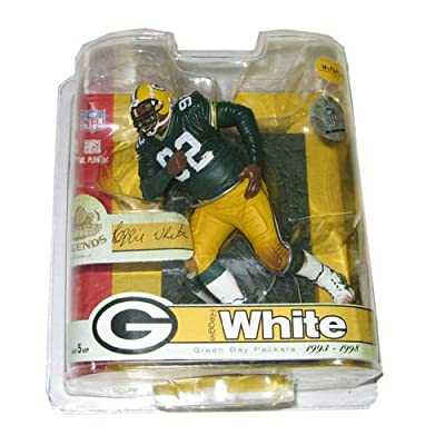 McFarlane NFL Legends Series 3 Reggie White Green Bay Packers Action Figure