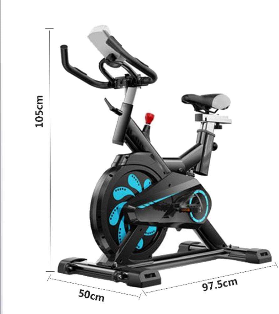 HLeoz Bicicleta Estática de Spinning Profesional, Ajustable ...