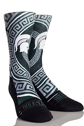 Rockem Apparel University of Michigan UM Wolverines Custom Athletic Crew Socks