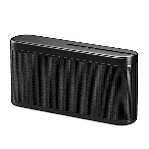 AUKEY Bluetooth Speaker with Boosted Bass, Powerful Sound and Power Bank Function for iPhone, Samsung Phones, and ()