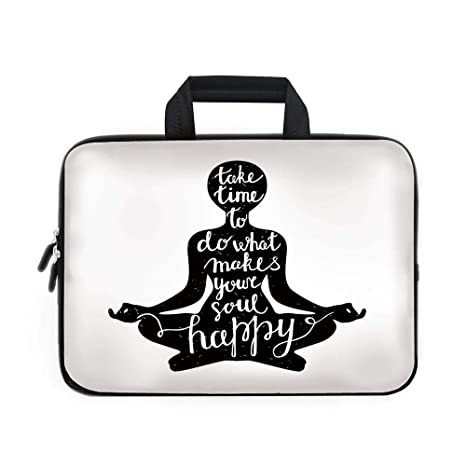 Amazon.com: Yoga Laptop Carrying Bag Sleeve,Neoprene Sleeve ...