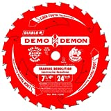 "10 Pack Freud D0724DA Diablo Demo Demon 7-1/4"" x 24-Tooth Circular Saw Blades"